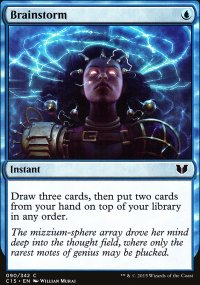Brainstorm - Commander 2015