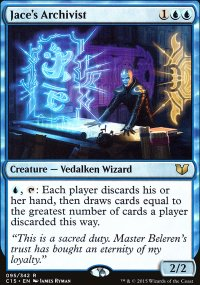 Jace's Archivist - Commander 2015