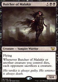 Butcher of Malakir - Commander 2015