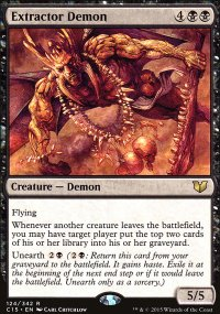 Extractor Demon - Commander 2015