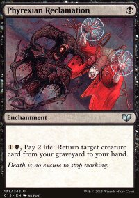 Phyrexian Reclamation - Commander 2015