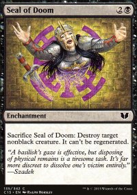 Seal of Doom - Commander 2015