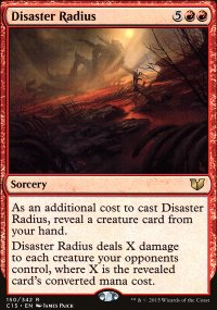 Disaster Radius - Commander 2015