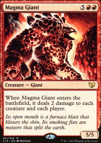 Magma Giant - Commander 2015