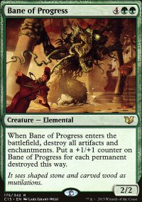 Bane of Progress - Commander 2015