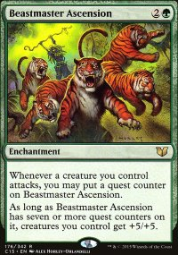 Beastmaster Ascension - Commander 2015