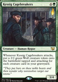 Kessig Cagebreakers - Commander 2015