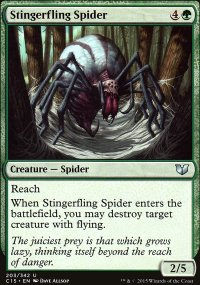 Stingerfling Spider - Commander 2015