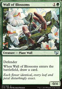 Wall of Blossoms - Commander 2015