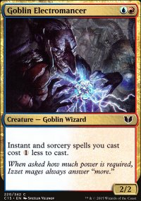 Goblin Electromancer - Commander 2015