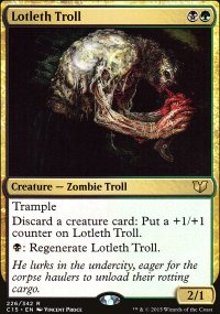 Lotleth Troll - Commander 2015