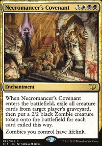 Necromancer's Covenant - Commander 2015