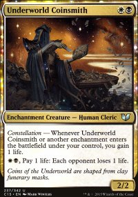 Underworld Coinsmith - Commander 2015