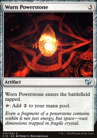 Worn Powerstone - Commander 2015