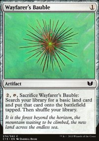 Wayfarer's Bauble - Commander 2015
