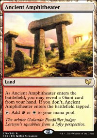 Ancient Amphitheater - Commander 2015