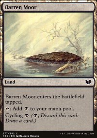 Barren Moor - Commander 2015