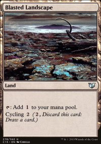 Blasted Landscape - Commander 2015