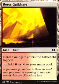 Boros Guildgate - Commander 2015