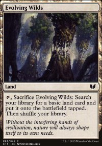 Evolving Wilds - Commander 2015