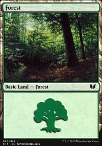 Forest 2 - Commander 2015