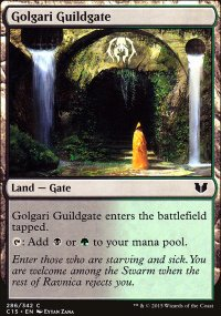 Golgari Guildgate - Commander 2015