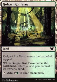 Golgari Rot Farm - Commander 2015