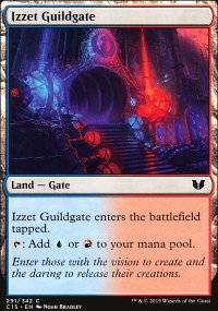 Izzet Guildgate - Commander 2015