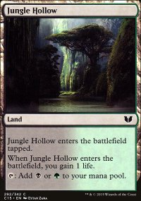 Jungle Hollow - Commander 2015