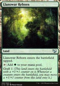 Llanowar Reborn - Commander 2015