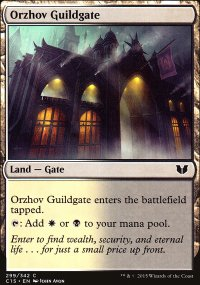 Orzhov Guildgate - Commander 2015