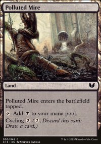 Polluted Mire - Commander 2015