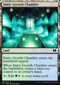 Simic Growth Chamber - Commander 2015
