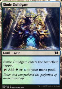 Simic Guildgate - Commander 2015