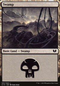 Swamp 1 - Commander 2015