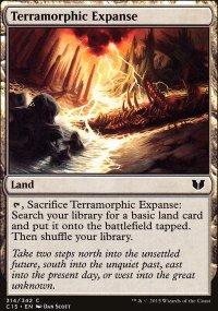 Terramorphic Expanse - Commander 2015