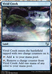 Vivid Creek - Commander 2015