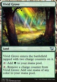 Vivid Grove - Commander 2015