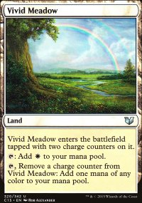 Vivid Meadow - Commander 2015