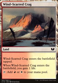 Wind-Scarred Crag - Commander 2015
