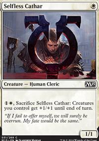 Selfless Cathar - Magic 2015