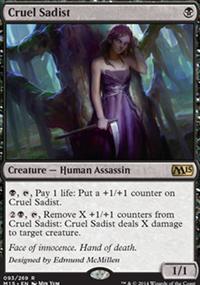 Cruel Sadist - Magic 2015