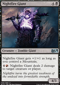 Nightfire Giant - Magic 2015