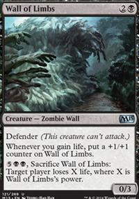 Wall of Limbs - Magic 2015
