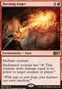 Burning Anger - Magic 2015