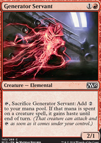 Generator Servant - Magic 2015