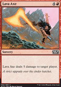 Lava Axe - Magic 2015