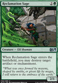 Reclamation Sage - Magic 2015