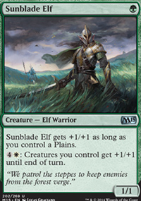 Sunblade Elf - Magic 2015