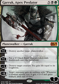 Garruk, Apex Predator - Magic 2015